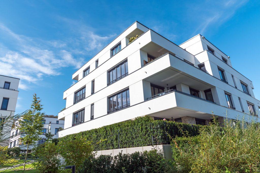Modern residential construction in Berlin